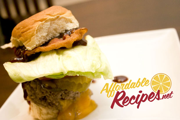 affordable recipes steamed burger experiment